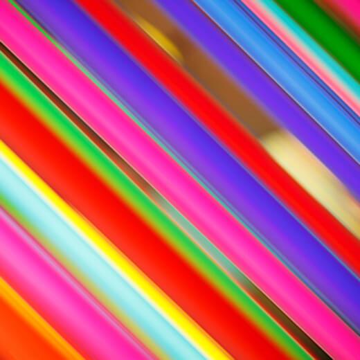 Neonfarben.