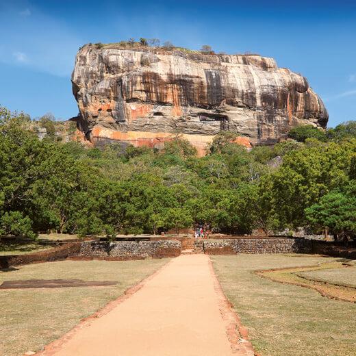 Der Löwenfelsen bei Sigiriya