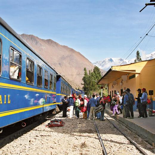 Mit dem Zug nach Cuzco