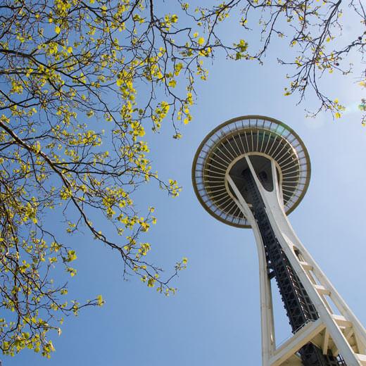 Das Wahrzeichen von Seattle – Space Needle