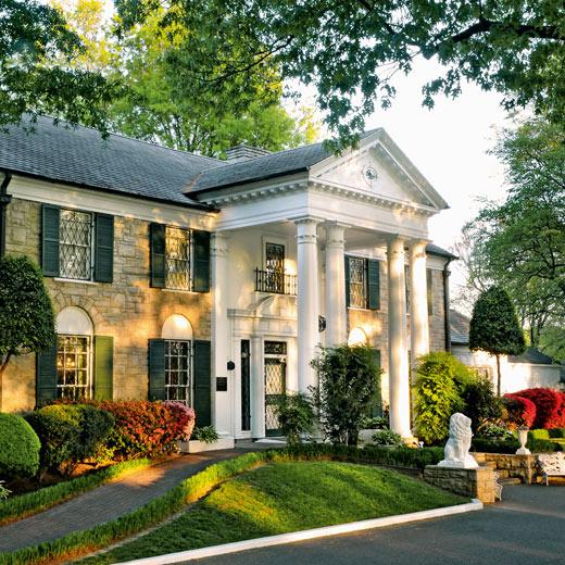 """Elvis Presleys Anwesen """"Graceland"""" in Memphis"""