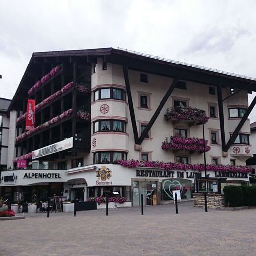 Alpenhotel… fall in Love