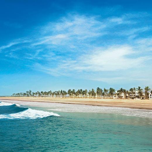 Wunderschöner Strand bei Salalah