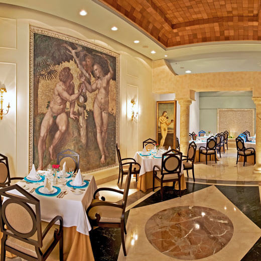 Das Hauptrestaurant des IBEROSTAR Grand Hotel Bávaro