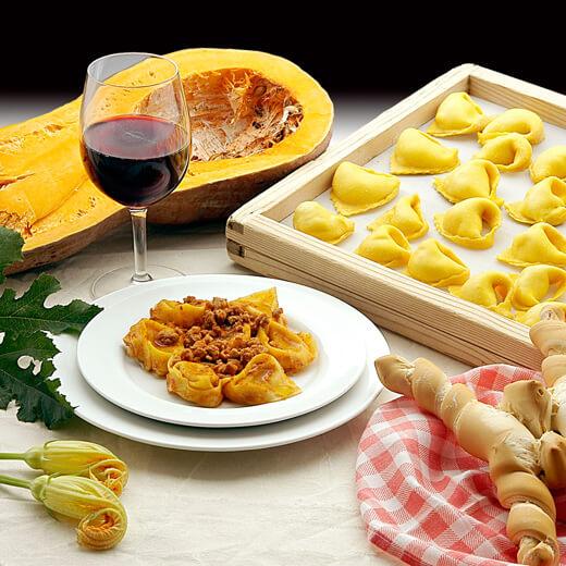 Eine typisch italienische Mahlzeit