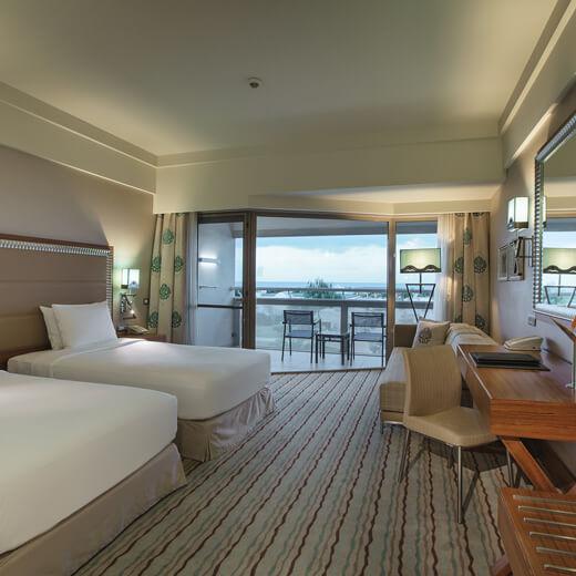 Eines der tollen Zimmer im Hilton Dalaman Resort & Spa