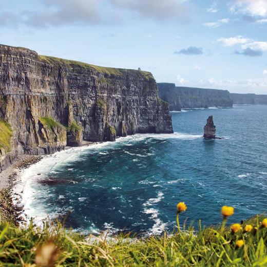 Cliffs of Moher – atemberaubende Kulisse