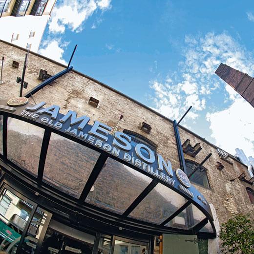 Die berühmte Jameson Whiskey Distillery