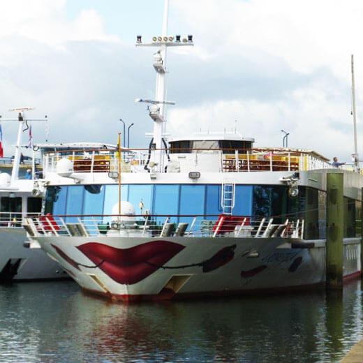 Die A-Rosa Stella in Tournus