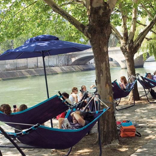 Auch in Paris kann man Beach-Feeling haben | Bildquelle Paris Tourist Office