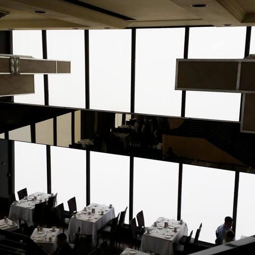 Auch mit so (k)einer Aussicht lohnt es sich auf den Hancock Tower zu gehen