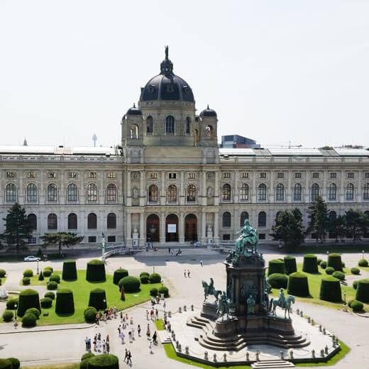 Das Kunsthistorische Museum in Wien kann natürlich auch besucht werden