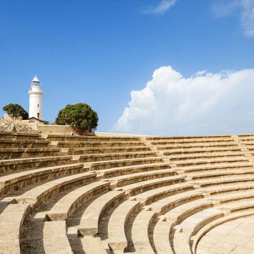 Das Amphiteater von Paphos