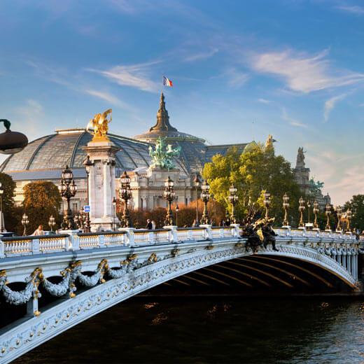 Das berühmte Grand Palais in Paris