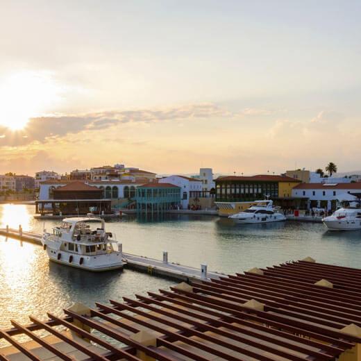 Die neue Marina in Limassol