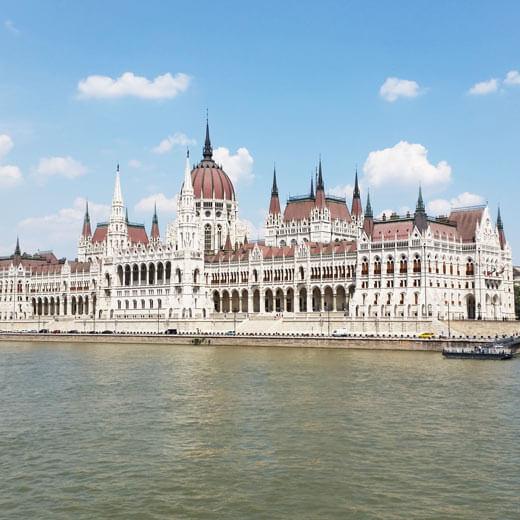 Ein Foto des Parlament in Budapest darf nicht fehlen