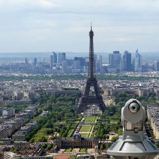 Wundervolle Aussicht vom Tour Montparnasse