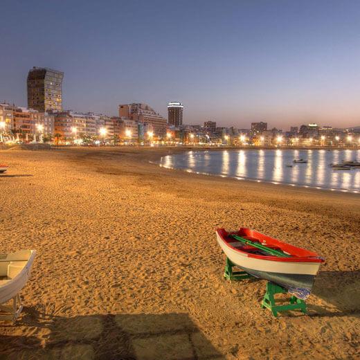 Auch in Las Palmas gibt's einen schönen Strand
