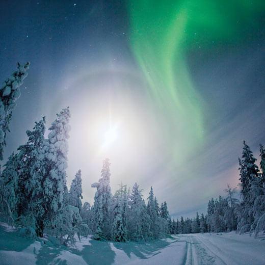 Ein unbeschreibliches Naturphänomen: Das Nordlicht