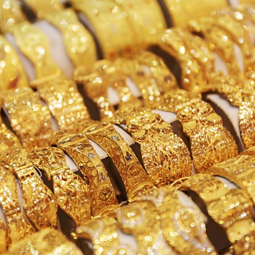 Goldliebhaber werden auch in Dubai fündig