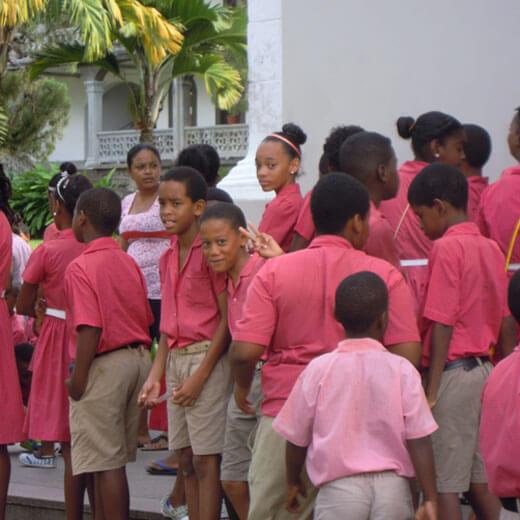 Kindertag auf Mahé