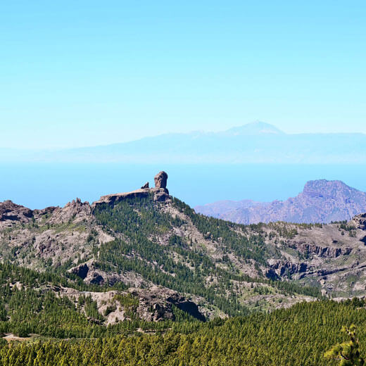 Tolle Aussicht vom Pico de las Nieves aus