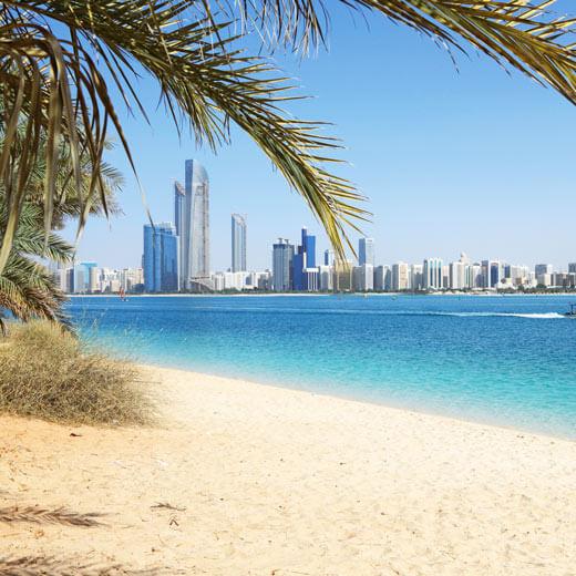 Wer nicht nach Dubai will, kann auch in Abu Dhabi die Sonne geniessen