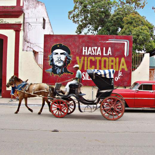 Che Guevara ist in Santa Clara allgegenwärtig