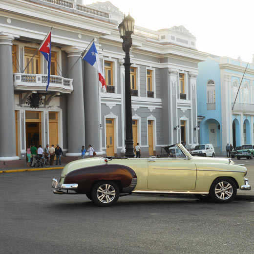 Das Regierungsgebäude in Cienfuegos