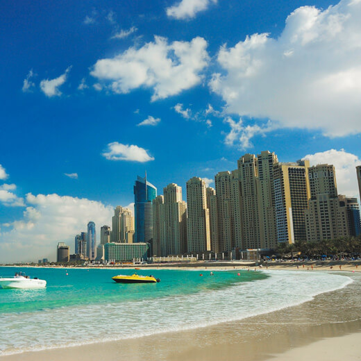 Dubai, die perfekte Kombination von Städtereise und Badeferien