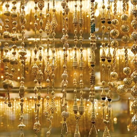 Dubai ist auch bekannt für die Gold Souks