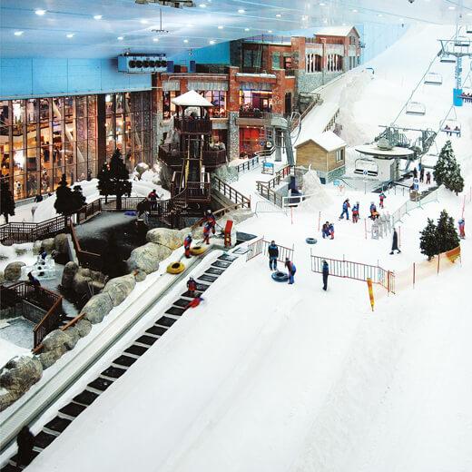 Warum nicht mal Ski fahren gehen in Dubai?