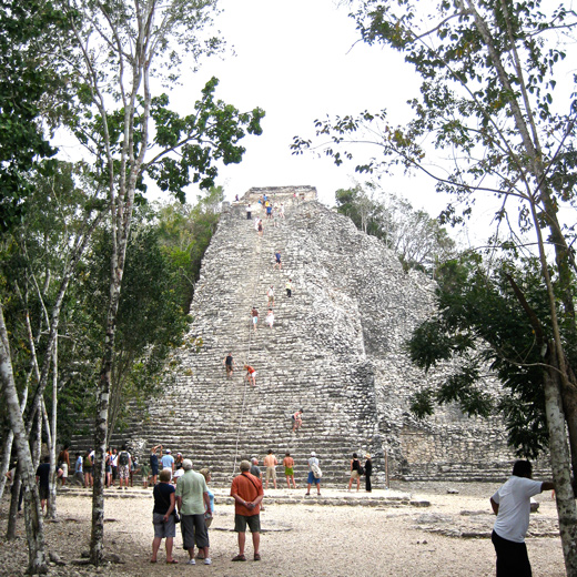 Die Nohoch-Mul-Pyramide