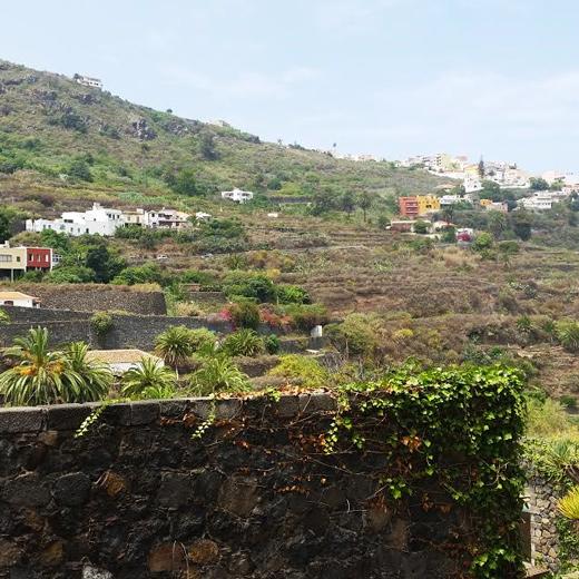 Aussicht auf das Dorf Masca