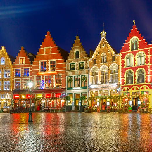 Der Weihnachtsmarkt in Brügge