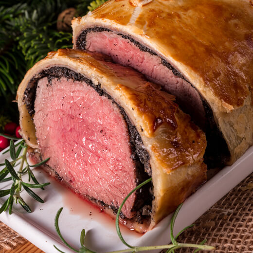 Hierzulande auch äusserst beliebt: Beef Wellington