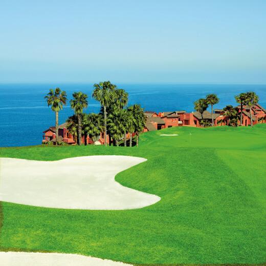 Tolle Aussichten vom El Salobre Golfplatz