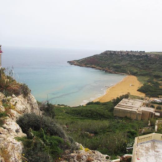 Ausblick auf Ramla Bay