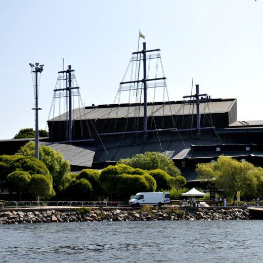 Aussenansicht des Vasa Museums
