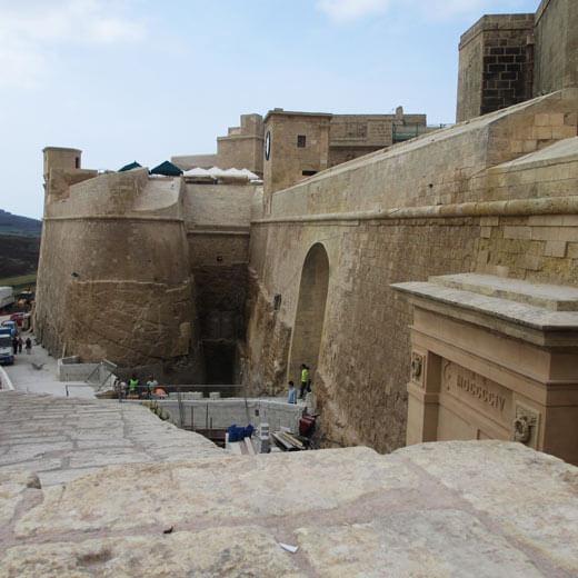 Die Cittadella auf Gozo