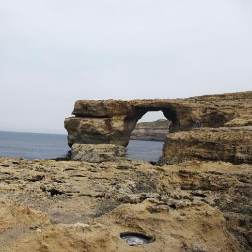 Eines der beliebtesten Fotosujets auf Gozo: Azure Window
