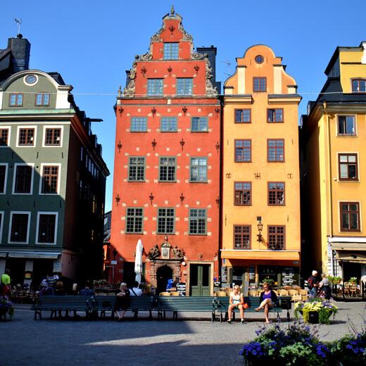 Stortorget, der älteste Platz Stockholms