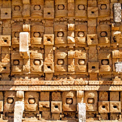Der Palast der Masken in Kabáh