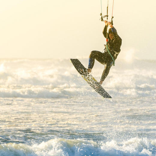 Warum nicht mal zum Kitesurfen nach Mauritius