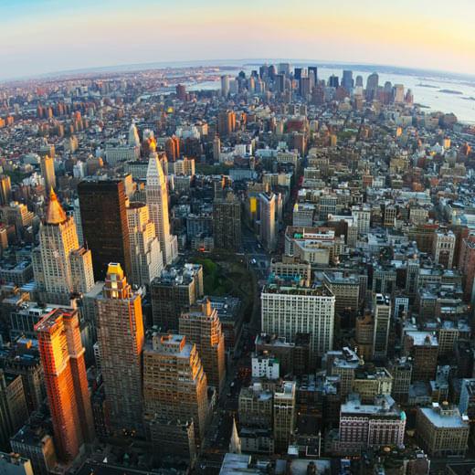 Zuoberst auf dem Treppchen: NEW YORK!
