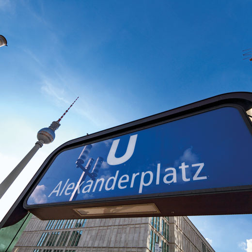 Qui ne connaît pas l'Alexanderplatz de Berlin?