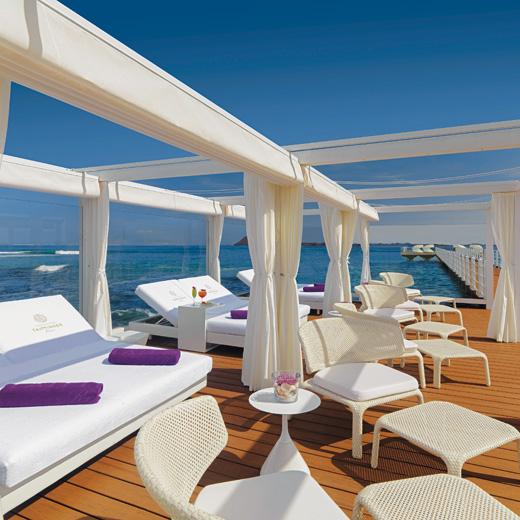 Auch auf der Coco Beach vista terraza lässt es sich herrlich relaxen