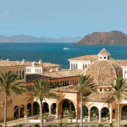 Aussicht auf die Anlage des Gran Hotel Atlantis Bahia Real