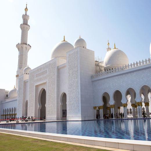 Die unvergleichbare Sheikh Zayed Moschee