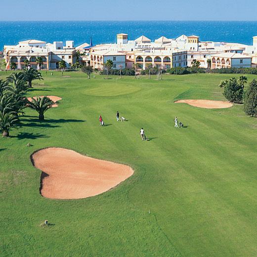 Einer der berühmtesten Golfplätze Südspaniens: Novo Sancti Petri